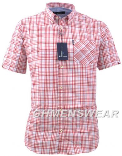 BEN SHERMAN Graduated Gingham Check Shirt